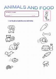 worksheets with animals and their food 14086 teaching worksheets food