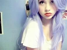 lila blaue haare haare farben in lila