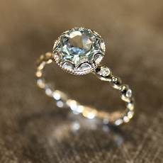 non diamond and non traditional engagement rings style