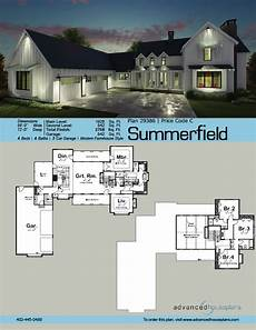 l shaped garage house plans summerfield 1 5 story modern farmhouse house plan garage