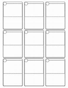 card templates for pages cards template all