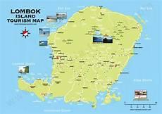 lombok map louisiana lombok island tourism map