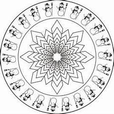 Malvorlage Jahreszeiten Mandala Mandala Malvorlage Winter With Images Coloring Pages