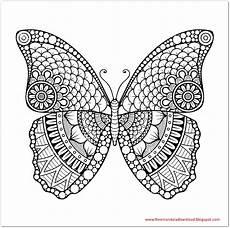 Ausmalbild Schmetterling Mandala Schmetterling Mandala Butterfly Mandala Free Mandala