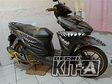 Variasi Vario 2018 by Jual Decal Vario 150 Stiker Vario 150 Shark Hiu Sticker