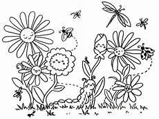 Ausmalbilder Blumen Wiese Blumen Malvorlage Mit Bildern Blumen Ausmalen