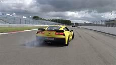 corvette c7 z06 burnout acceleration sound