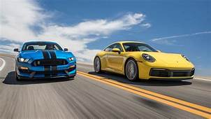 Ford Mustang Shelby GT350 Vs Porsche 911 Carrera S Which