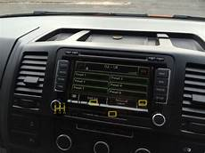vw t5 genuine vw rns510 navigation system