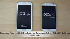 samsung galaxy s5 5 0 lollipop vs samsung galaxy s4 5 0 1