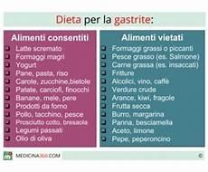 alimenti per mal di stomaco dieta per gastrite cosa mangiare cibi da evitare e