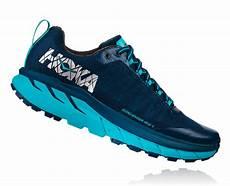 pro du sport hoka one one challenger atr 4 bleue poseidon chaussures de