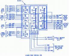 Plymouth Voyager Ls 1999 Terminal Fuse Box Block Circuit