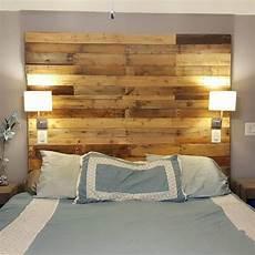 1001 mod 232 les pour une t 234 te de lit en palette de bois diy