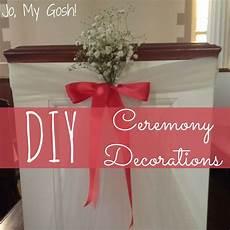 diy decorations for wedding ceremony diy wedding ceremony decorations