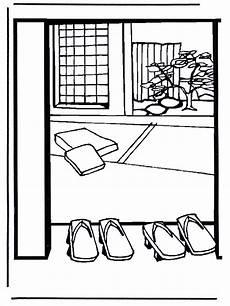 Malvorlagen Fenster Japan Japanisches Haus Ausmalbilder Japan