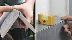 mitered joints make a tiled shower niche shine