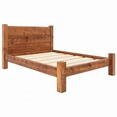 bed frame plank headboard funky buy funky chunky furniture treble plank headboard bed