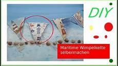 diy anleitung maritime how to sommer girlande deko diy maritime wimpelkette