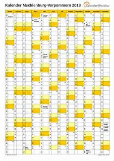 Feiertage 2018 Meck Pomm Kalender