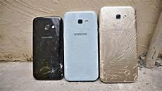 Samsung Galaxy A7 Vs A3 Vs A5 2017 Drop Test 4k