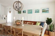 painting simply white in the dining room kitchen the happy housie