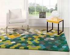 tappeto vibrante 20 esempi di tappeti moderni dal design geometrico
