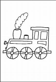 Malvorlage Zug Lokomotive Eisenbahn Malvorlagen Zum Ausdrucken F 252 R Kinder