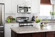 adhesive backsplash self adhesive kitchen backsplash how to nest for less