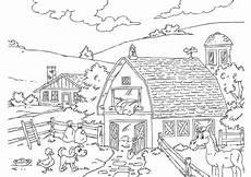 Bauernhof Ausmalbilder Zum Drucken Malvorlage Bauernhof Kostenlose Ausmalbilder Zum Ausdrucken