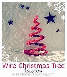 Weihnachtsbaum Aus Draht - wire tree tutorial u create