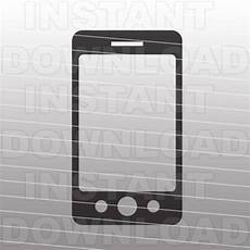 iphone svg filesmart phone svg file cutting template