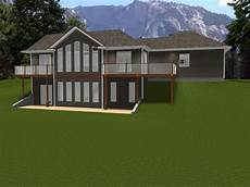 ranch house plans walkout basement ranch house plans with walkout basement ranch house plans