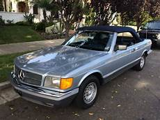 blue book value used cars 1984 mercedes benz e class transmission control highly collectible 1984 mercedes 500sec convertible for sale in venice california united states