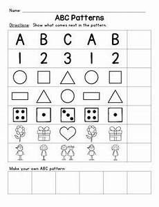 abc patterns worksheets 24 abc patterns pattern worksheet pattern preschool worksheets