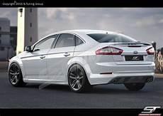 ford mondeo mk4 facelift rear bumper spoiler diffuser ebay