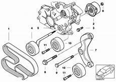 Bmw E46 Engine Drive Belt Diagram by Original Parts For E46 330d M57 Touring Engine Belt