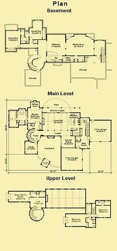 tuscan style house plans with courtyard plans for a large tuscan style villa with a courtyard