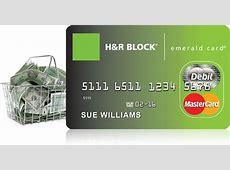 hr block emerald card account