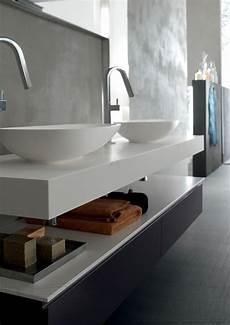 design bagno moderno arredo bagno doppio lavabo top 10cm yago29 nel 2019