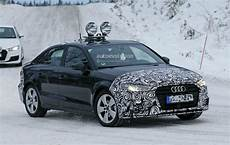2016 Audi A3 Sedan Facelift Spied For The Time