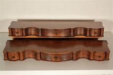 mensole antiche coppia di mensole con cassetti umbertino bottega