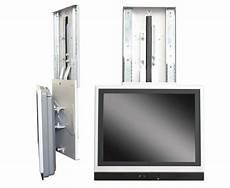 Smart Tv Halterung - tv halter nach unten ausfahrbar silber 49680 reimo