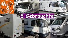 5 gebrauchte wohnmobile sonderschau caravaning teil 3