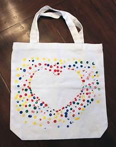 décorer un sac en tissu canvas bag kidlist activities for