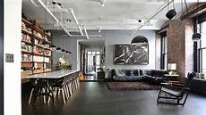 Loft In New York - a quintessential new york city loft with an industrial