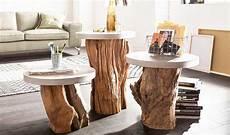 Runder Wohnzimmertisch Holz - beistelltisch holz rund f 252 r wohnzimmertisch holz design