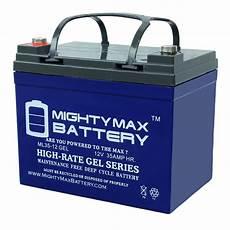 batterie a gel ml35 12gel 12v 35ah battery mighty max battery