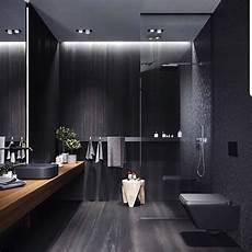 27 inspirations design salle de bain en noir avec un look