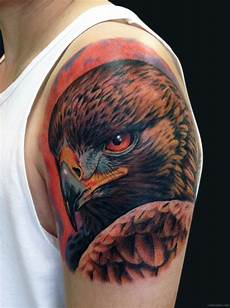 73 wonderful eagle shoulder tattoos